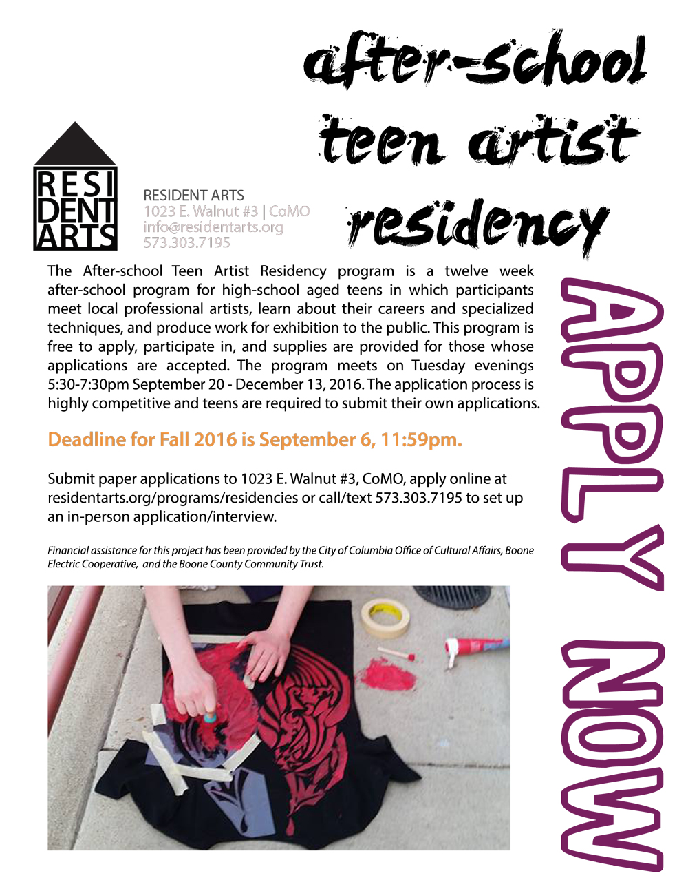 After-school-Teen-Artist-Residency